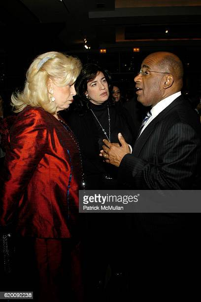 Harriet Rose Katz guest and Al Roker attend 10th Annual CCap Benefit Honoring Chef Alfred Portale at Pier Sixty at Chelsea Piers on February 27 2008...