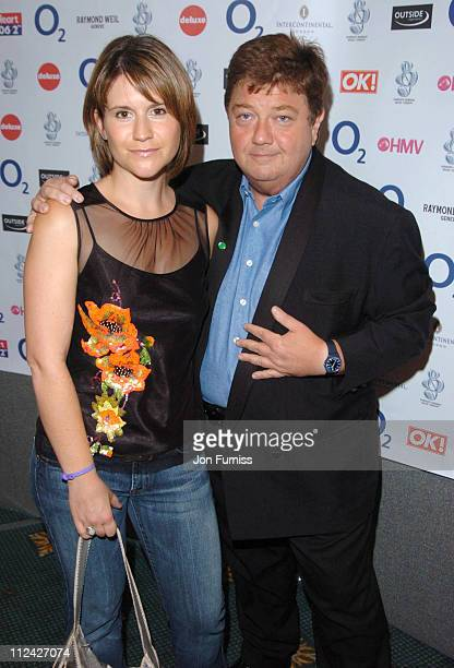Harriet Scott and Jono Coleman during NordoffRobbins O2 Silver Clef Awards 2004 at Intercontinential Mayfair in London Great Britain