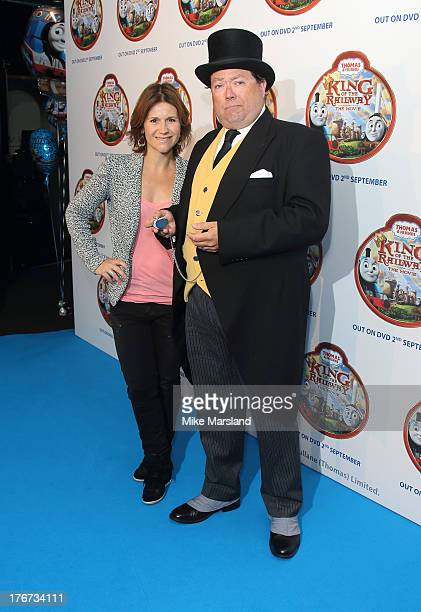 Harriet Scott attends VIP Screening of Thomas & Friends: King Of The Railway at Vue Leicester Square on August 18, 2013 in London, England.