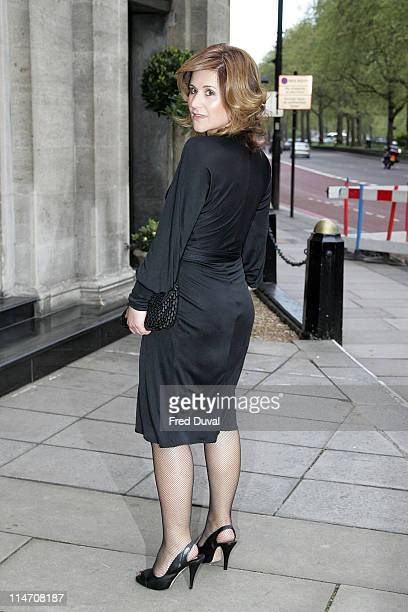 Harriet Scott during 2006 Sony Radio Academy Awards Outside Arrivals at Grosvenor House in London Great Britain United Kingdom