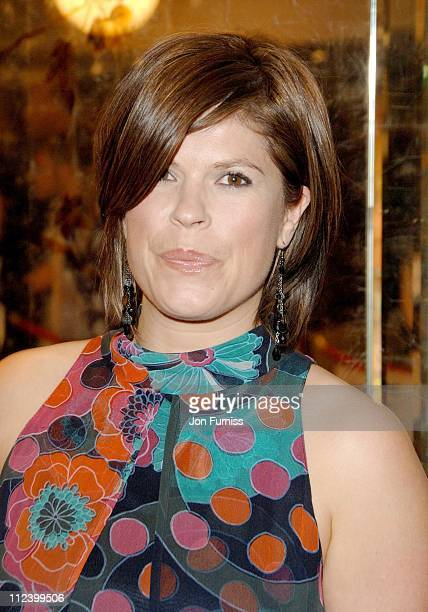 Harriet Scott during 2007 Sony Radio Academy Awards Inside at Grosvenor House Hotel in London Great Britain