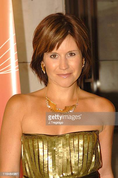 Harriet Scott during Commercial Radio Awards 2005 at Intercontinental Hotel in London Great Britain