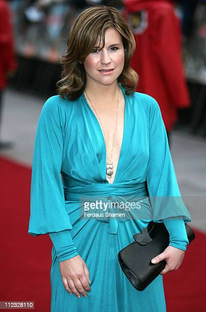 Harriet Scott during Mission Impossible III London Premiere Outside Arrivals at Odeon Leicester Square in London Great Britain