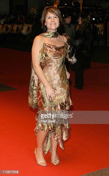 Harriet Scott during National Treasure London Premiere at Odeon West End in London United Kingdom