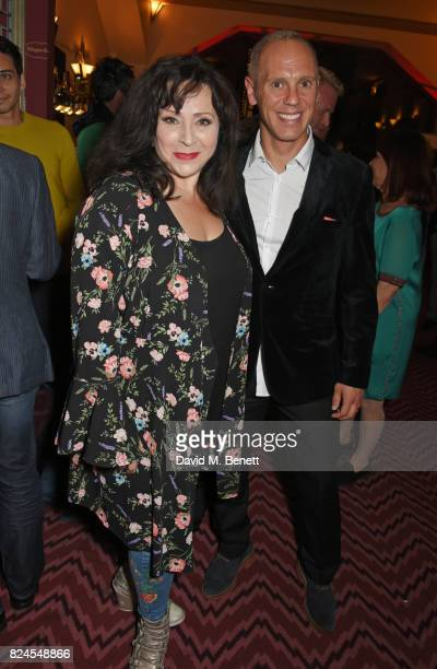 Harriet Thorpe and Robert Rinder attend a drinks reception celebrating 'Gala For Grenfell' a special gala bringing together a host of the world's...