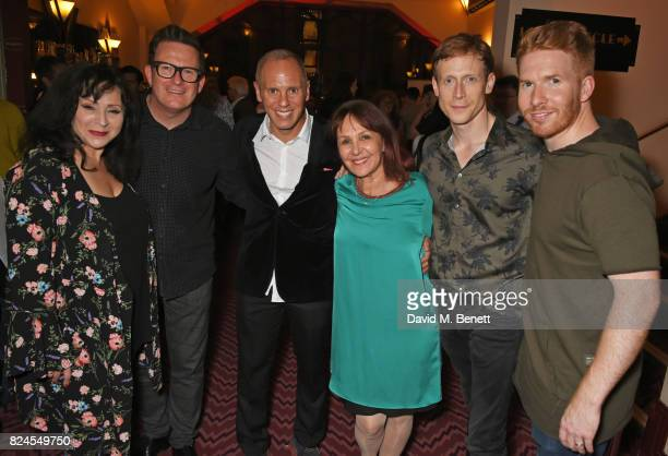 Harriet Thorpe Sir Matthew Bourne Robert Rinder director Arlene Phillips Edward Watson and Neil Jones attend a drinks reception celebrating 'Gala For...