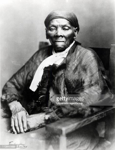 Harriet Tubman American born in slavery escaped 1849 and became leading Abolitionist Active as a 'conductor' in the Underground Railroad Photograph