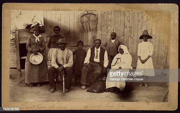 Harriet Tubman at home and her friends residents of the Home for the Aged and Indigent Negroes Auburn New York 1887