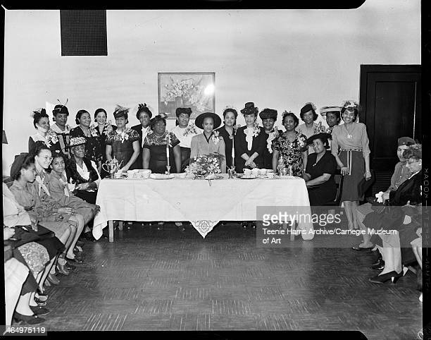 Harriet Tubman Guild members from left standing Betty Champlin Maggie Robinson Thelma Snead Eloise Armstrong Rose Dukes Catherine Hays Ruth Butler...