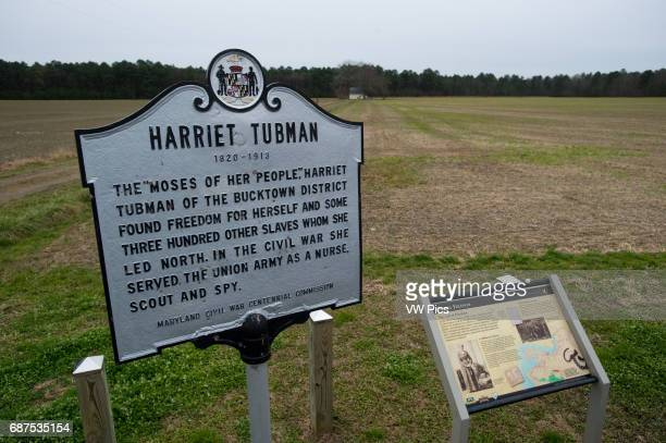 Harriet Tubman historic site Dorchester County Maryland