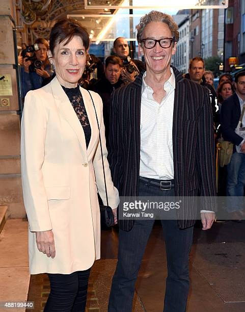 Harriet Walter and Guy Paul attend the press night of 'Photograph 51' at Noel Coward Theatre on September 14 2015 in London England