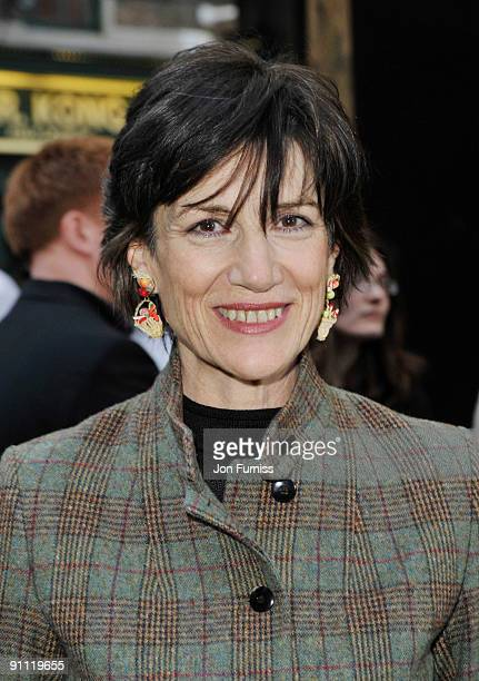Harriet Walter arrive for the UK film premiere of 'Morris A Life With Bells On' at the Prince Charles Cinema on September 24 2009 in London England