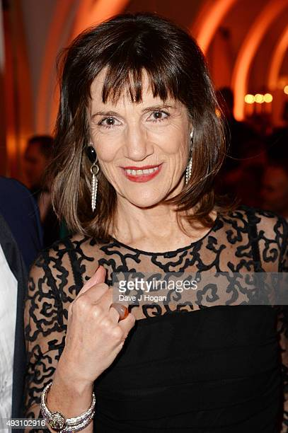 Harriet Walter attends the BFI London Film Festival Awards at Banqueting House on October 17 2015 in London England