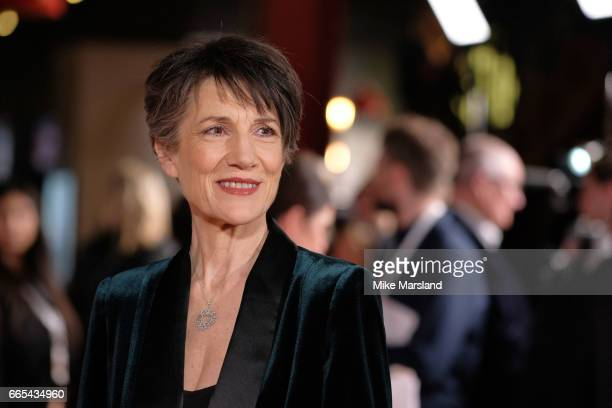 Harriet Walter attends the Gala screening of 'The Sense of an Ending' at Picturehouse Central on April 6 2017 in London England