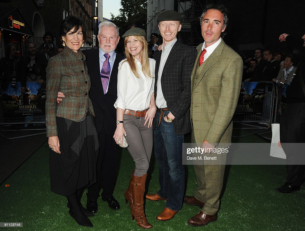 harriet walter  sir derek jacobi  lucy akhurst  chaz oldham and greg    news photo