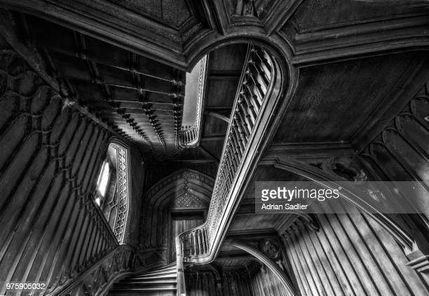 harriet's staircase - looking up - harriet stock photos and pictures