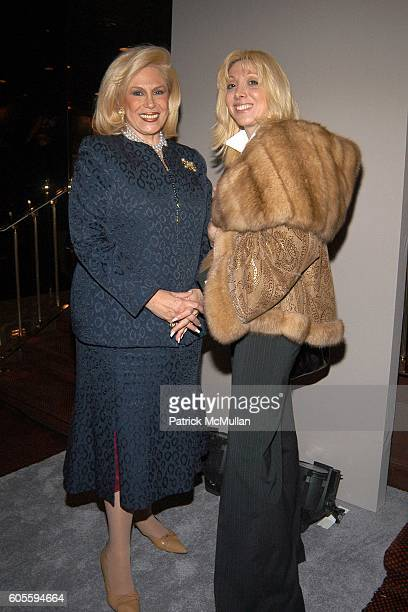 Harriette Rose Katz and Anna Kildaze attend Secrets of Charm Fall 2006 Collection at Doubles on February 2 2006 in New York City