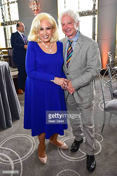 Harriette Rose Katz and Barry Wine attend Harriette Rose Katz Hosts The Second Anniversary of The Chosen Few at The Rainbow Room on July 11 2016 in...