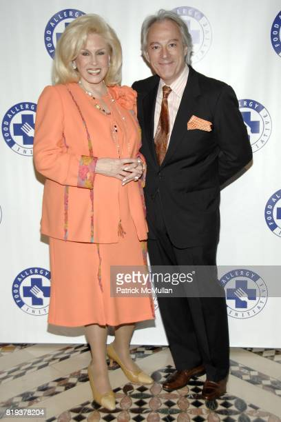 Harriette Rose Katz and De Juan Stroud attend THE FOOD ALLERGY INITIATIVE'S Spring Luncheon at Cipriani 42nd Street on April 21 2010 in New York City