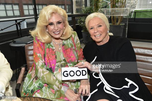 Harriette Rose Katz and Diane Terman attend The Chosen Few's Third Anniversary Hosted by Harriette Rose Katz at Second on July 11 2017 in New York...