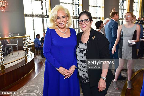 Harriette Rose Katz and Elisa Herr attend Harriette Rose Katz Hosts The Second Anniversary of The Chosen Few at The Rainbow Room on July 11 2016 in...