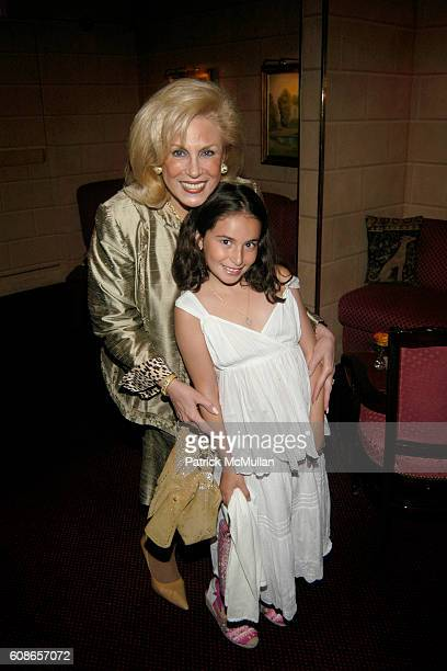 Harriette Rose Katz and Gabrielle Rosenbloom attend MICHELLE MARIE Cocktail Party at Doubles on June 21 2007 in New York City