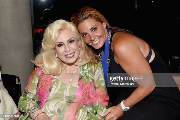 Harriette Rose Katz and Guest attend The Chosen Few's Third Anniversary Hosted by Harriette Rose Katz at Second on July 11 2017 in New York City