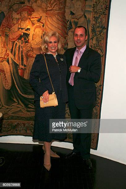 Harriette Rose Katz and Harry Heissmann attend Party to meet and thank The Lenox Hill Neighborhood House THE TIME MACHINE table designers at Boccara...