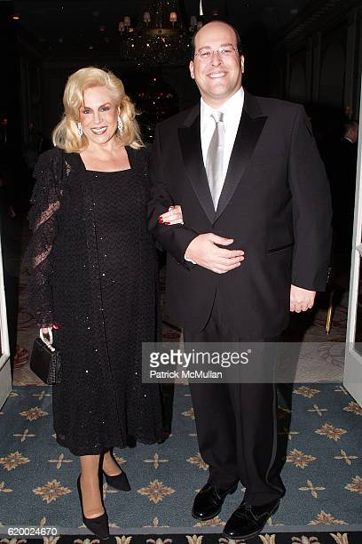 Harriette Rose Katz and Lawrence Rosenbloom attend FOOD ALLERGY INITIATIVE 2008 Gala at Waldorf Astoria on December 8 2008 in New York City