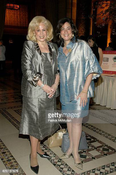 Harriette Rose Katz and Melissa Rosenbloom attend The Food Allergy Initiative Spring Luncheon at Cipriani 42nd Street on April 15 2008 in New York...