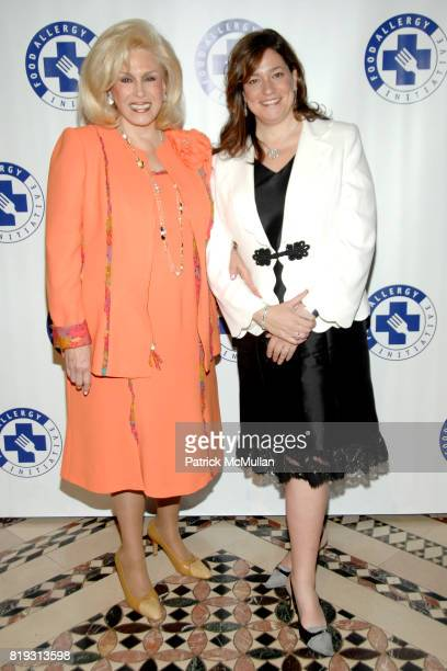Harriette Rose Katz and Melissa Rosenbloom attend THE FOOD ALLERGY INITIATIVE'S Spring Luncheon at Cipriani 42nd Street on April 21 2010 in New York...