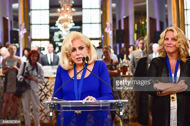 Harriette Rose Katz attends Harriette Rose Katz Hosts The Second Anniversary of The Chosen Few at The Rainbow Room on July 11 2016 in New York City