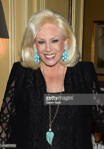 Harriette Rose Katz attends High Tea High Fashion With Dennis Basso at Hotel Plaza Athenee on May 19 2015 in New York City