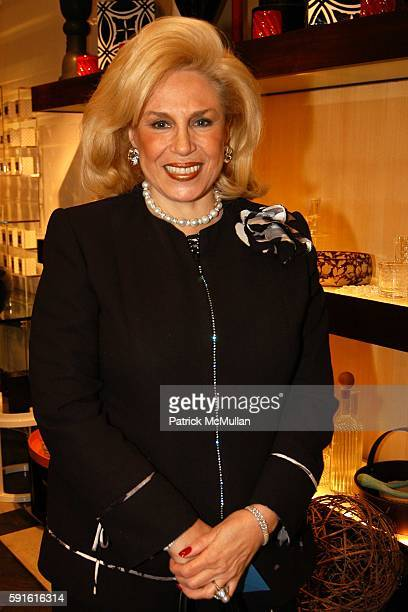 Harriette Rose Katz attends Holiday Couture Decor Preview Party at HOMER on November 15 2005 in New York City