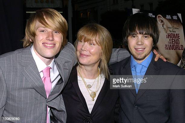 Harris Allan Sissy Spacek and Erik Smith during Outfest 2004 Festival Closing Night and Los Angeles Premiere of A Home at the End of the World Red...
