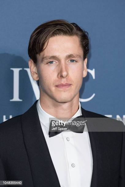 Harris Dickinson attends the BFI IWC Schaffhausen Gala Dinner held at Electric Light Station on October 9 2018 in London England