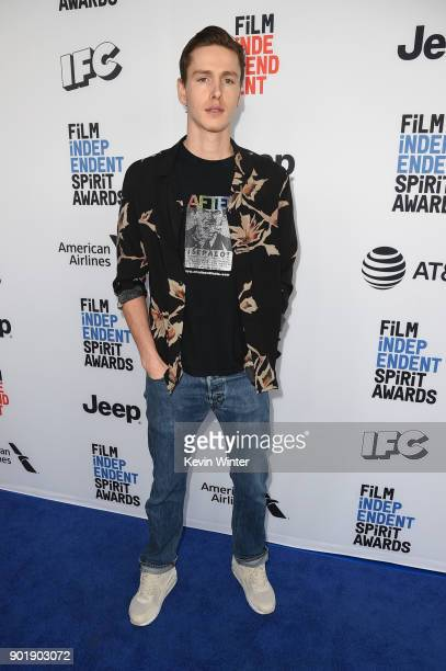 Harris Dickinson attends the Film Independent Spirit Awards Nominee Brunch at BOA Steakhouse on January 6 2018 in West Hollywood California