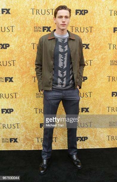 Harris Dickinson attends the for your consideration event for FX's 'Trust' held at Saban Media Center on May 11 2018 in North Hollywood California