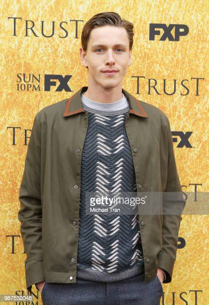 Harris Dickinson attends the for your consideration event for FX's Trust held at Saban Media Center on May 11 2018 in North Hollywood California