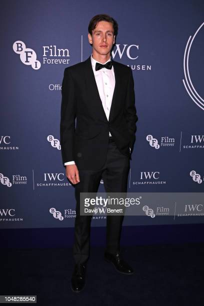 Harris Dickinson attends the IWC Schaffhausen Filmmaker Bursary Award ceremony in association with the BFI at the Electric Light Station on October 9...