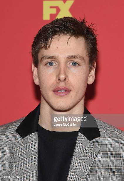 Harris Dickinson attends the The Americans Season 6 Premiere at Alice Tully Hall Lincoln Center on March 16 2018 in New York City
