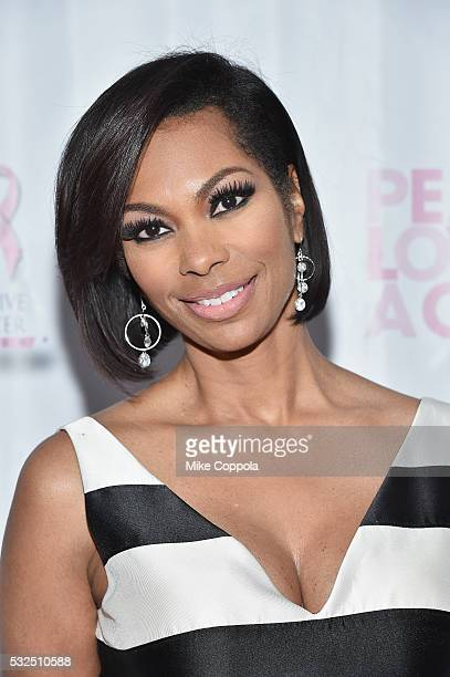 Harris Faulkner attend the 2016 Peace Love A Cure Triple Negative Breast Cancer Foundation Benefit on May 15 2016 in Alpine New Jersey