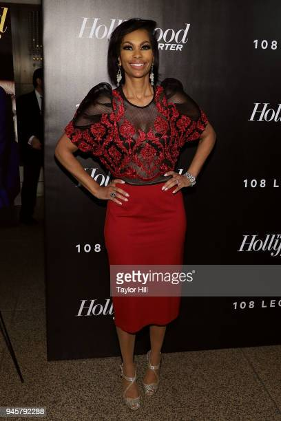 Harris Faulkner attends the 2018 The Hollywood Reporter's 35 Most Powerful People In Media at The Pool on April 12 2018 in New York City