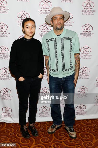 Harris Harper and Ben Harper attend the Tibet House US 30th Anniversary Gala Celebration at Gotham Hall on March 16 2017 in New York City