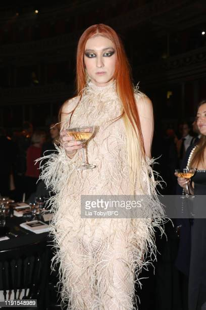 Harris Reed during The Fashion Awards 2019 held at Royal Albert Hall on December 02 2019 in London England