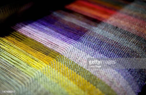 Harris Tweed, weaved on the Isle of Harris