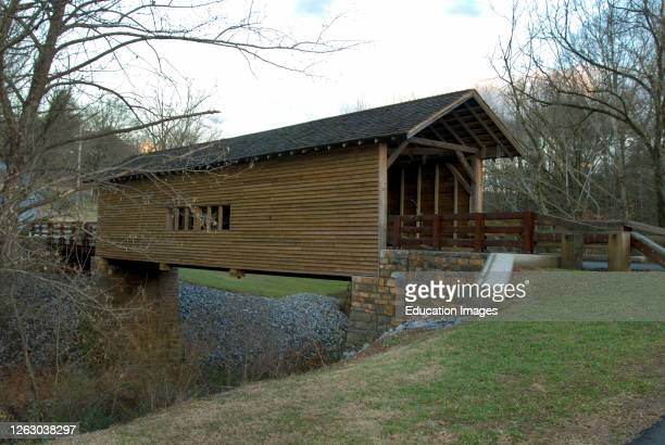 Harrisburg Covered Bridge in Sevier County Tennessee