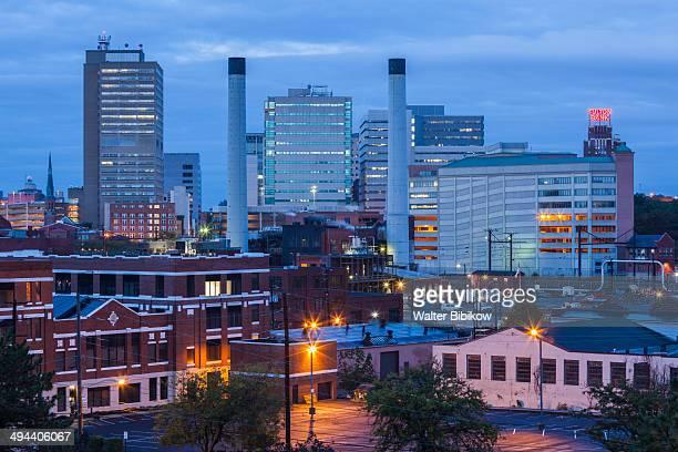 harrisburg skyline - harrisburg pennsylvania stock pictures, royalty-free photos & images