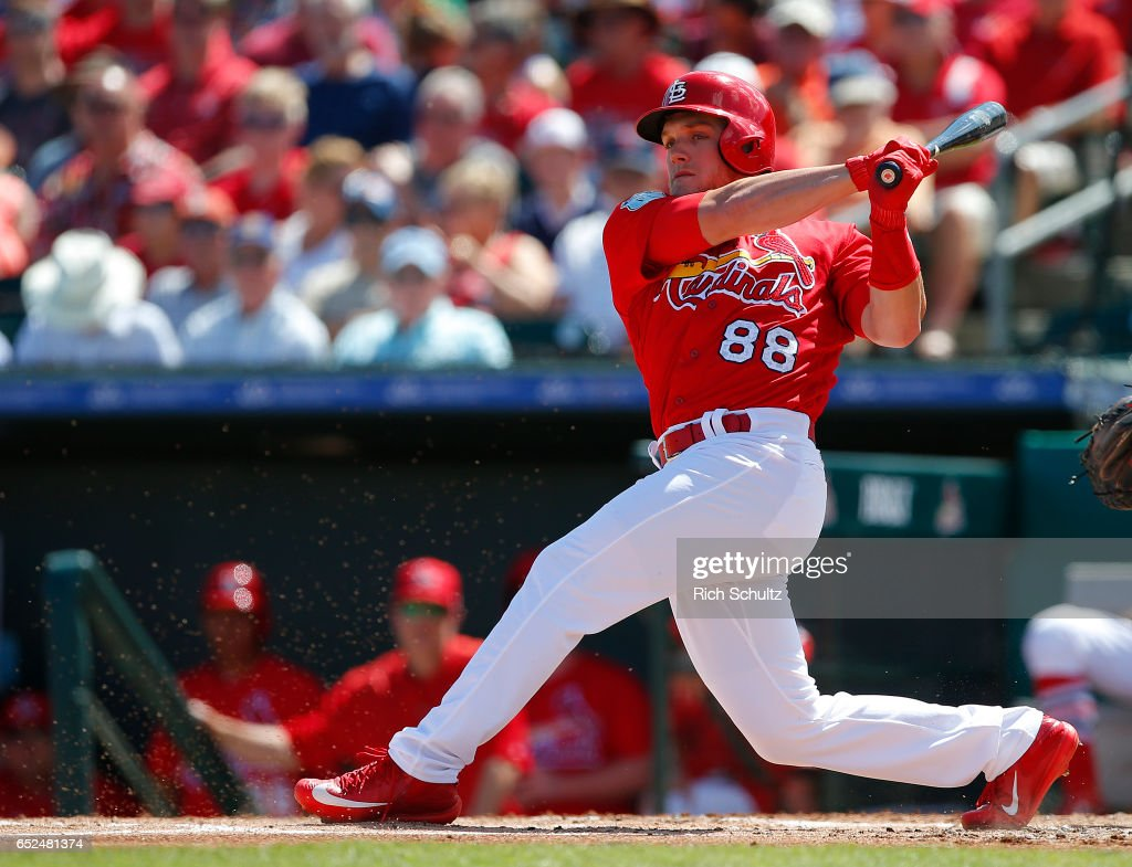 3c1fa2012 Harrison Bader of the St. Louis Cardinals in action against the ...