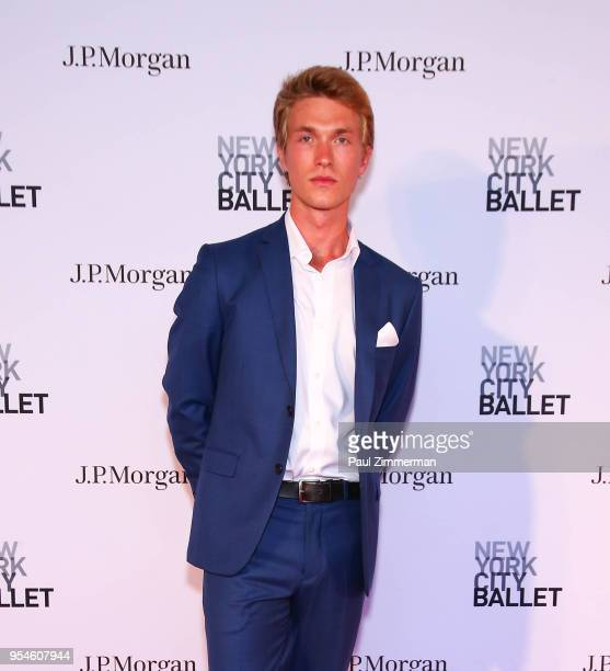 Harrison Ball attends the 2018 New York City Ballet Spring Gala at David H Koch Theater Lincoln Center on May 3 2018 in New York City